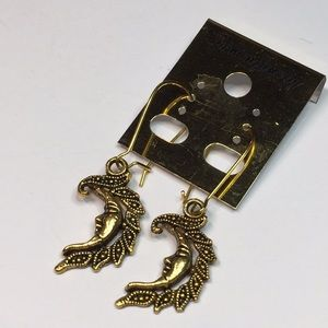Fantasy Moon Fashion Earrings